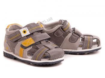 Босоножки С.Луч 88273-3 grey-yellow