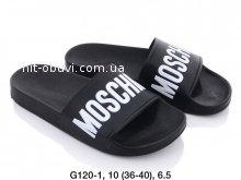 Шлепки  Moschino G120-1