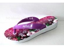 Вьетнамки Progres Payas цветок фиолетовый