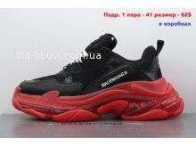 Кроссовки Balenciaga Biack/Red