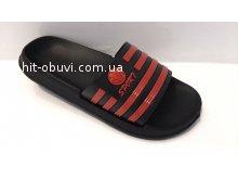 Шлепки Крок 210 черно-красный