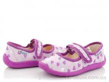 Тапки Slippers Сад без вышивки фиолетовый