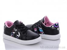 Кроссовки Schony kids A104 black-pink