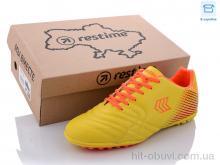 Футбольная обувь Restime DM021105-1 yellow-orange-black