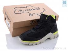 Кроссовки Restime SW021333 black-lemon