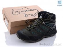 Ботинки Restime AM021907 khaki-black