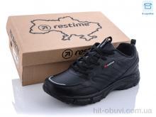 Кроссовки Restime PMO21248 black-leather