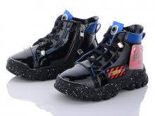 Ботинки MJ 909 black-blue