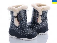 Резиновая обувь Selena A601 Blasé mini звезды черные