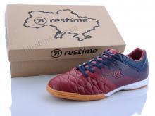 Футбольная обувь Restime DMB20810 d.red-navy