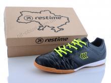 Футбольная обувь Restime DMB20810 black-lime