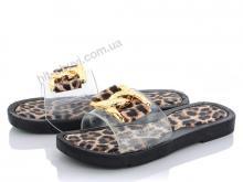 Шлепки Diana Шлепки леопард коричневые
