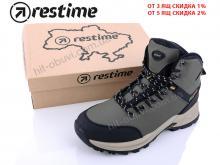 Ботинки Restime PMZ19136 khaki