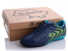 Футбольная обувь Restime DM020215-1 navy-cyan-l.green