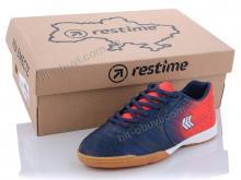 Футбольная обувь Restime DD020810 navy-red-silver