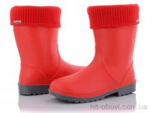 Резиновая обувь Selena Win красный (24-29)