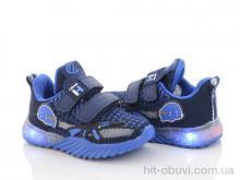 Кроссовки Style-baby-Clibee NN887 d.blue-royal LED