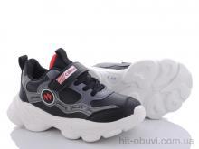 Кроссовки Style-baby-Clibee NN25 black-red