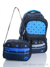 Рюкзак Back pack 1320 black-blue