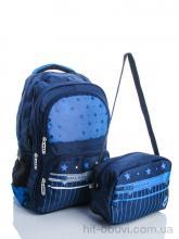 Рюкзак Back pack 1320 blue-d.blue