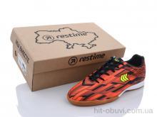 Футбольная обувь Restime DMB21419 black-orange
