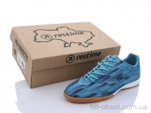 Футбольная обувь Restime DMB21419 cyan-navy