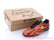 Футбольная обувь Restime DMB21419-1 black-orange