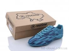 Футбольная обувь Restime DMB21419-1 cyan-navy
