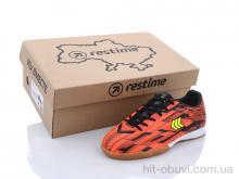 Футбольная обувь Restime DDB21419 black-orange