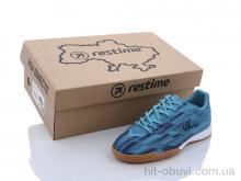 Футбольная обувь Restime DDB21419 cyan-navy