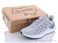 Кроссовки Restime SML21838 gray-l.gray-periwinkle