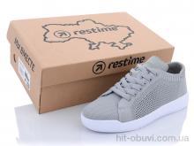 Кроссовки Restime SWL21835 gray