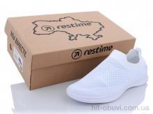 Кроссовки Restime SWL21221 white