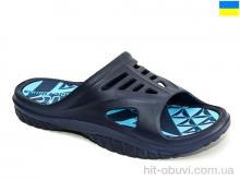 Шлепки Крок 126 сине-синий