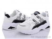 Кроссовки Violeta 172-17 white-black