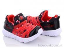 Кроссовки Class Shoes BD301 черно-красный