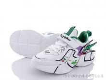 Кроссовки Style-baby-Clibee N9096 white-green