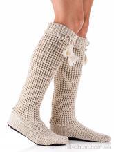 Гетры Diana 601-2 домашняя обувь вязаные беж АКЦИЯ