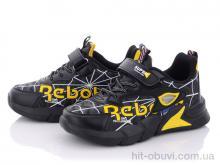 Кроссовки Style-baby-Clibee N2907 black-yellow