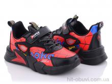 Кроссовки Style-baby-Clibee N2907 black-red