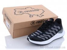 Кроссовки Restime SWL21838 white-black