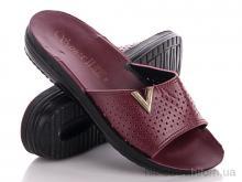 Шлепки Makers Shoes Sanex wine-red