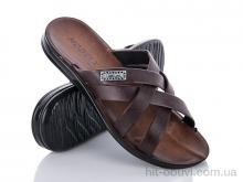 Шлепки Makers Shoes 3537 коричневый