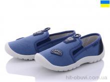 Слипоны Roks K301 синий