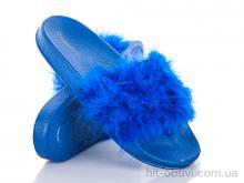 Шлепки Diana HM002 blue АКЦИЯ